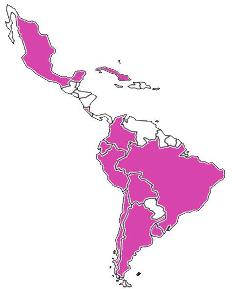 Países miembros solatina 2017 abejas sociedad latinoamericana investigación