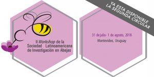 invitación segundo workshop solatina montevideo uruguay abejas investigación