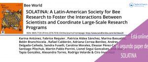 paper solatina 2018 artículo científico abejas latinoamerica