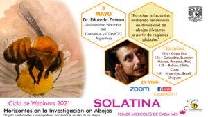 Eduardo zattara abejas solatina 2021 investigación webinars