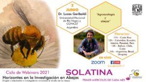 Garibaldi nuevos horizontes agroecología y abejas webinars 2021