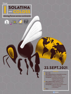 Afiche primer encuentro SOLATINA- COLOSS Joining forces across continents